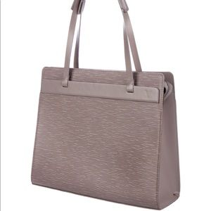 Lilac Epi leather Louis Vuitton Croisette PM purse